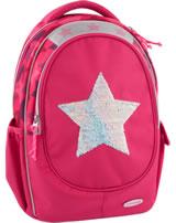 TOPModel Schul-Rucksack Pailletten Star pink