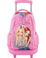 TOPModel Schul-Rucksack / Trolley PANDA pink