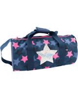 TOPModel sports bag Sequins star dark blue