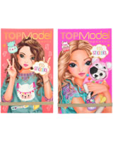 TOPModel Sticker book ALPACA