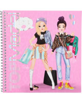 TOPModel Stickerbuch Dress me up Candy & Miju