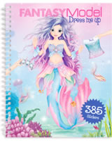 TOPModel sticker book Dress me up Fantasy Model Mermaid