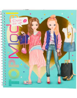 TOPModel Stickerbuch Dress me up Hayden und Christy