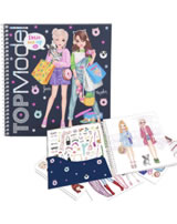 TOPModel Stickerbuch Dress me up June & Hayden