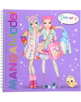 TOPModel Stickerbuch MANGAModel Dress me up lila