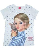 ToPModel T-Shirt Kurzarm FERGIE weiß 85043-001