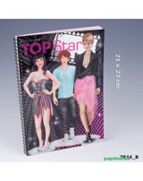 TOPModel Malbuch Create your TOPStar