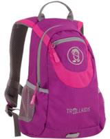 Trollkids Kids Daypack Rucksack TROLLHAVN S 7 L dark rose 820-206