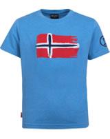 Trollkids Kids T-Shirt Kurzarm OSLO T medium blue 113-117