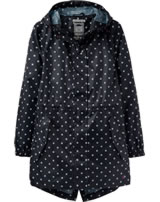 Tom Joule Wasserdichte Damen-Regenjacke navy spot Y_GOLIGHTLY-NAVSPOT