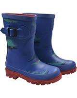 Tom Joule Wellingtons WELLY DINO blau/rot Y_JNRBOYSWLY-BDINOPD