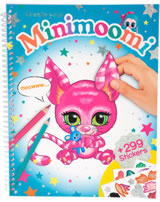 Ylvi and the Minimoomies Malbuch Create your Minimoomi