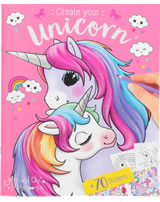Ylvi and the Minimoomies Malbuch mit Stickern Create your Unicorn