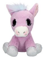 Ylvi and the Minimoomies Pony Liloo 18 cm Plüsch mit Sound lila