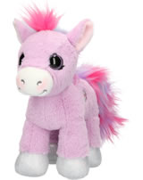 Ylvi and the Minimoomies Pony Liloo 24 cm Plüsch mit Sound lila