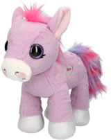 Ylvi and the Minimoomies Pony Liloo 33 cm Plüsch mit Sound lila
