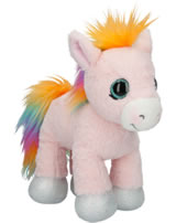 Ylvi and the Minimoomies Pony Roosy Rainbow 24 cm Plüsch mit Sound