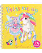 Ylvi and the Minimoomies Stickerbuch Dress me up gelb