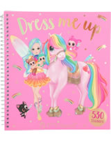 Ylvi and the Minimoomies Stickerbuch Dress me up pink
