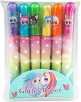 Ylvi and the Minimoomis Glitter Roller Gelstifte-Set
