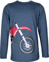 Tom Joule Shirt manches longues MOTORBIKE blue marl Z_ODRFINLAY-BMTBIKE