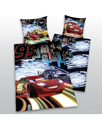 disney cars bettw sche neon bei papiton bestellen. Black Bedroom Furniture Sets. Home Design Ideas