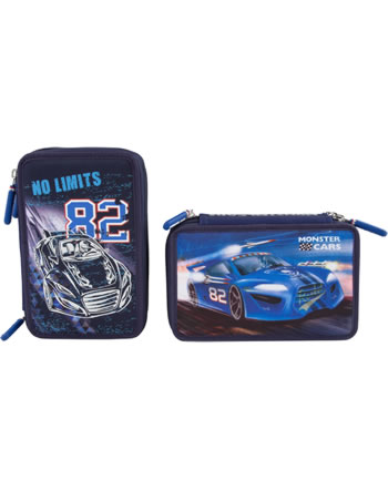 Monster Cars Pencil Case With Filling No Limits Online At Papiton