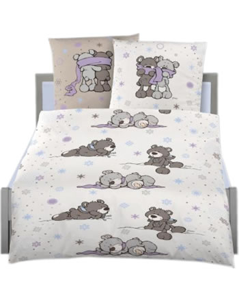 nici bed linen winter bears flanell online at papiton. Black Bedroom Furniture Sets. Home Design Ideas