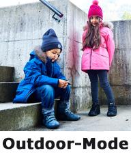 Outdoor-Mode für Kinder