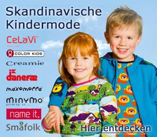 Skaninavische Kindermode für den Fruehling/Sommer